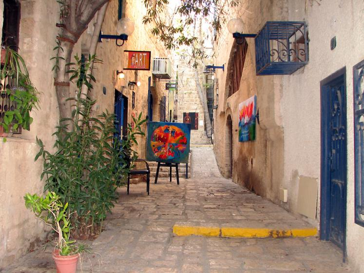 World Travel Photos :: Israel - Jaffa :: Jaffa - art gallery
