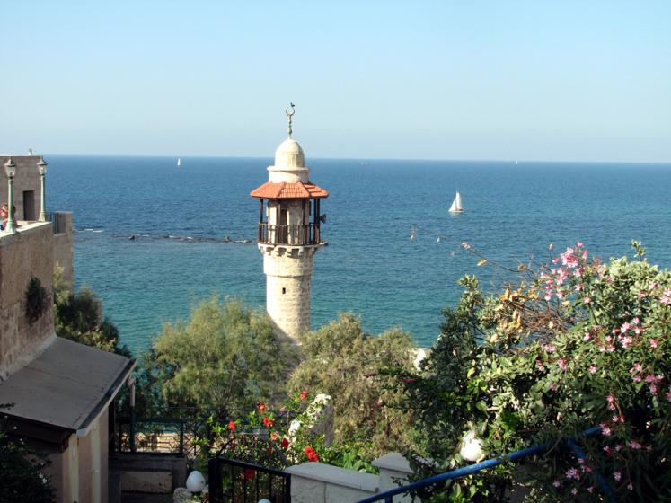 World Travel Photos :: Israel - Jaffa :: Jaffa. A view on Mediterranean sea