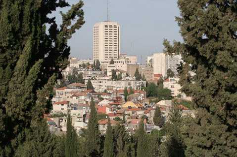 World Travel Photos :: Panoramic views :: Jerusalem. Nahlaot