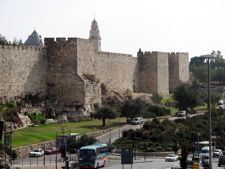 World Travel Photos :: Israel - Jerusalem :: Jerusalem. Old city view