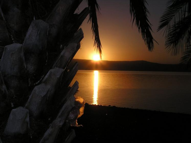 World Travel Photos :: Israel - Misc :: Israel. Sunset on Kineret lake