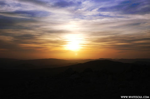 World Travel Photos :: Jae-Hyoung Ho :: Israel. Sunset of Negev Desert