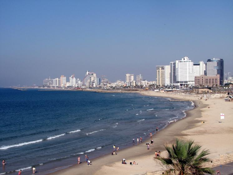World Travel Photos :: Israel - Tel-Aviv :: A beach in Tel-Aviv