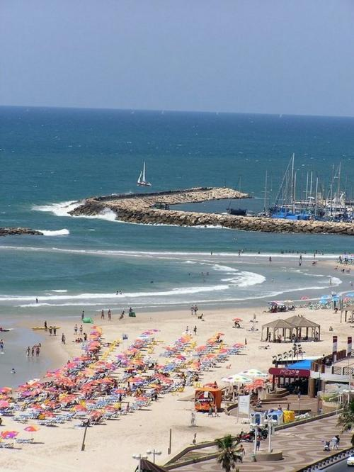 World Travel Photos :: Sea & ocean views :: Israel. Tel-Aviv.
