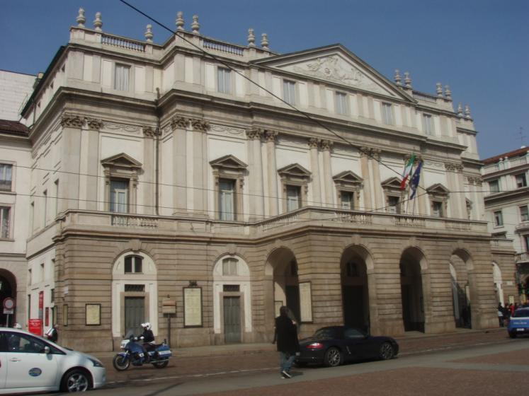 World Travel Photos :: Italy - Milano :: Milan. La Scala