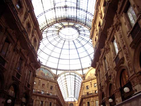World Travel Photos :: Dave C. :: Milan. Galleria Vittorio Emmanuele