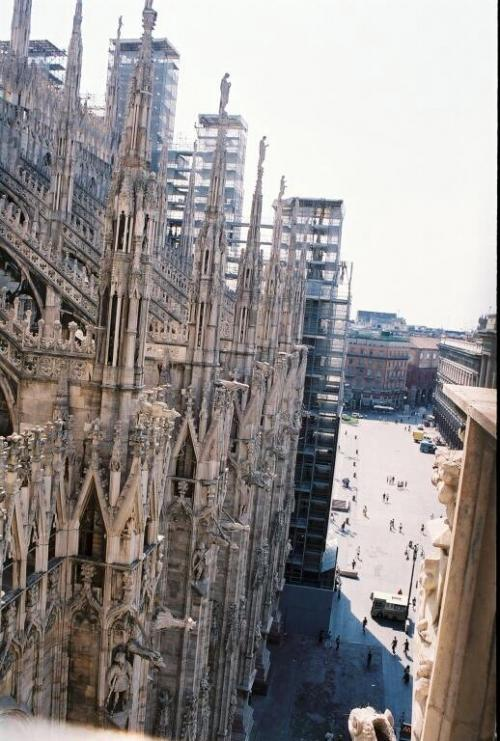 World Travel Photos :: The most famous buildings  :: Italy. Milano.