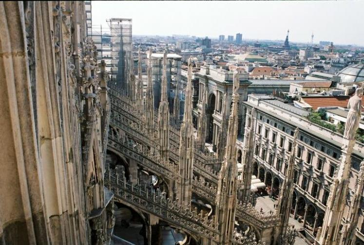 World Travel Photos :: The most famous buildings  :: Italy. Milano. Duomo