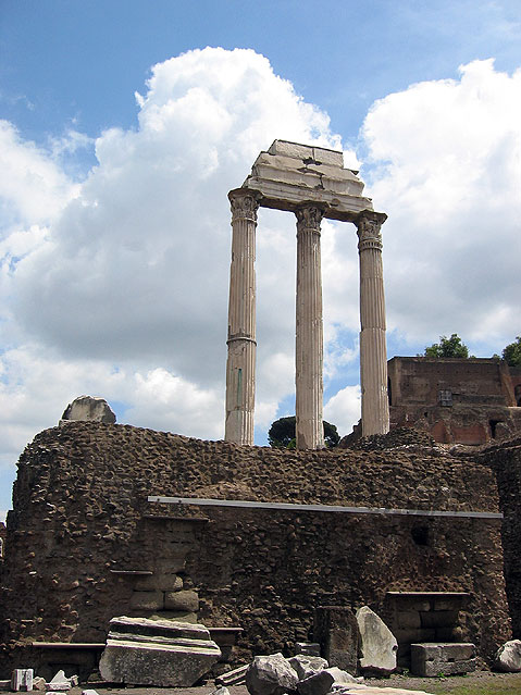 World Travel Photos :: Roman Forum :: Rome. Roman Forum - UNESCO World Heritage Site