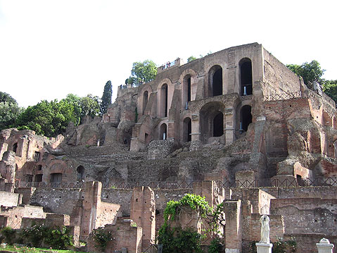 World Travel Photos :: Italy - Rome :: Rome. Palatine