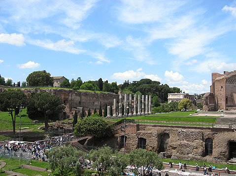 World Travel Photos :: Roman Forum :: Rome. Remains of the Great City