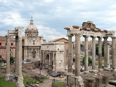 World Travel Photos :: Remains of Roman Empire :: Rome. Roman Forum