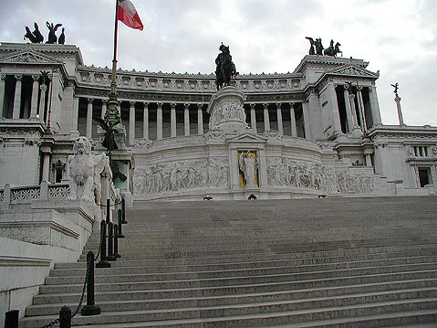 World Travel Photos :: Monuments :: Rome. Victor Emmanuel Monument