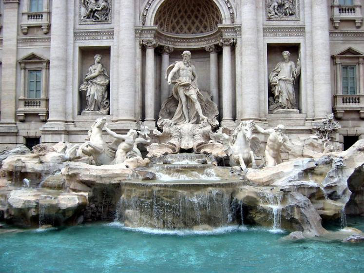 World Travel Photos :: Fountains :: Rome. Trevi Fountain