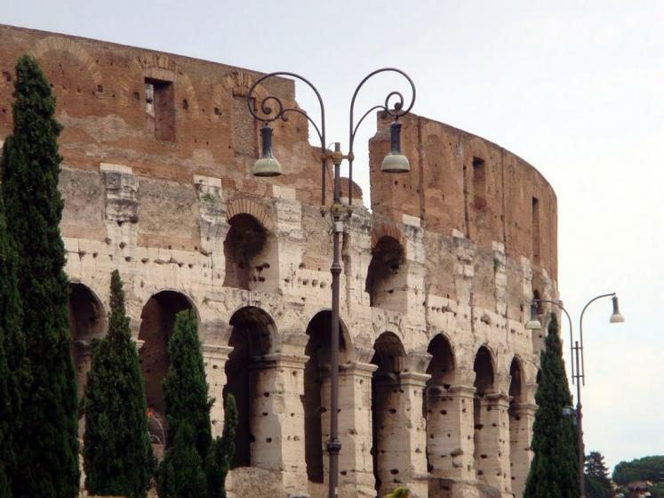 World Travel Photos :: Italy - Rome :: Rome. Coliseum - a fragment