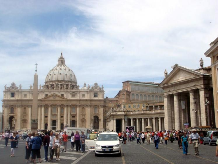 World Travel Photos :: Italy - Vatican :: Vatican. St. Peter´s Basilica