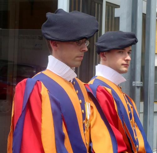 World Travel Photos :: Italy - Vatican :: Vatican. Swiss guards