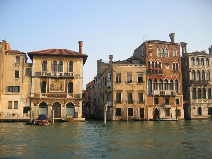 World Travel Photos :: Italy - Venice :: Venice. Buildings along the canal