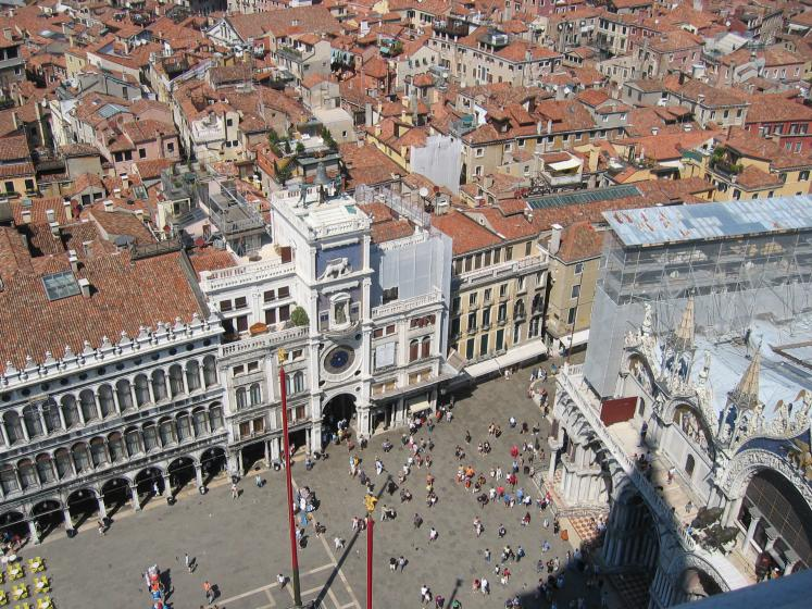 World Travel Photos :: Panoramic views :: Venice. A view from above
