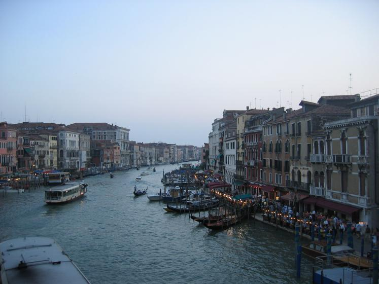 World Travel Photos :: Лидия :: Venice. An early evening, restaurants & gondolas