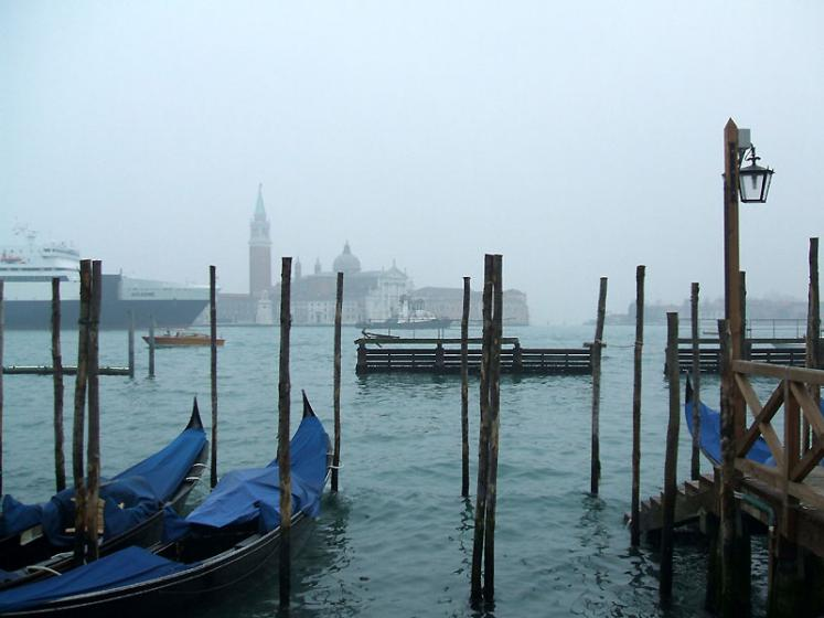 World Travel Photos :: Italy - Venice :: Venice in fog