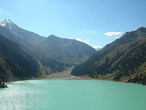 World Travel Photos :: Kazakhstan - Misc :: Kazakhstan. Big Almaty Lake