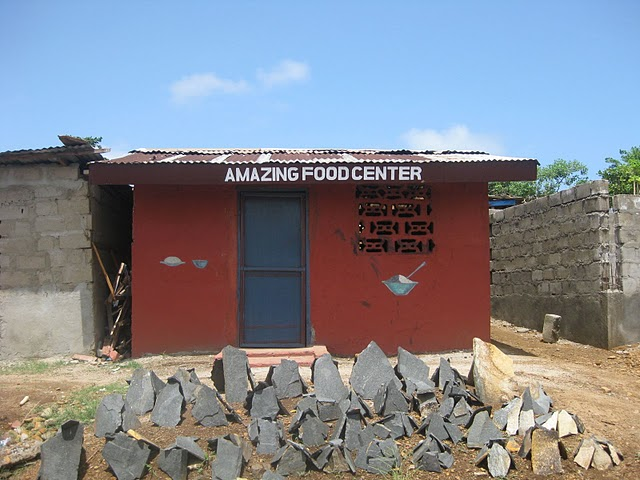 World Travel Photos :: Liberia - Misc :: Amazing food center (Liberia)
