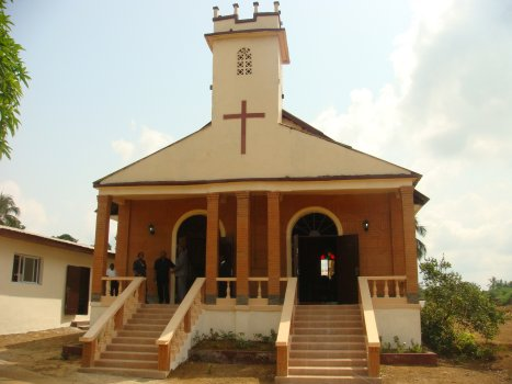 World Travel Photos :: Liberia - Misc :: Church Careysburg, Careysburg City, Liberia