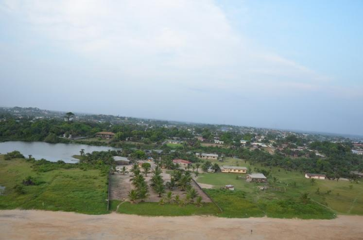 World Travel Photos :: Liberia - Misc :: Coastline Liberia,Africa