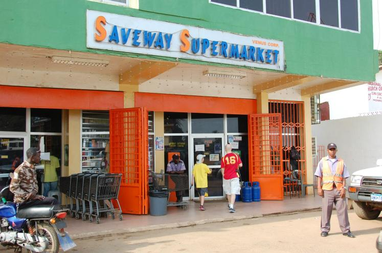 World Travel Photos :: Liberia - Misc :: Liberia, Africa - Safeway... Liberian style