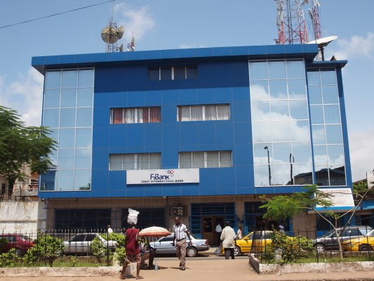 World Travel Photos :: Liberia - Monrovia :: FIB Bank @ Monrovia, Liberia Africa