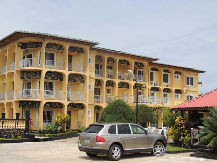 World Travel Photos :: Cecil :: Golden key hotel. Paynesville, Liberia