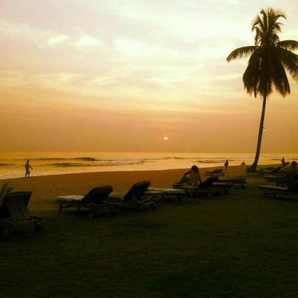 World Travel Photos :: Sunsets :: Liberia, Africa - Kendeja Beach