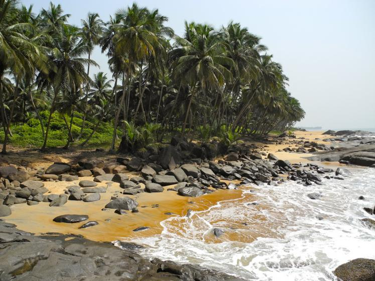 World Travel Photos :: Beaches ::   Liberia, Africa