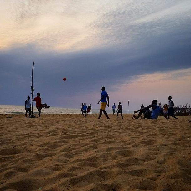 World Travel Photos :: Beaches :: Monrovia, Liberia . Sunset Beach