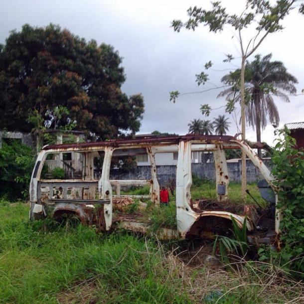 World Travel Photos :: Cecil :: Nature reclaim. Buchanan, Liberia.