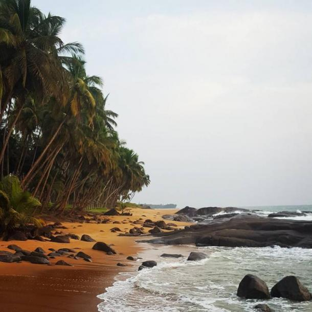 World Travel Photos :: Liberia - Monrovia :: Sunset Beach. Buchanan, Liberia