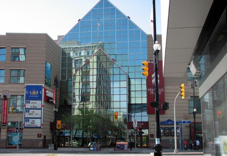 World Travel Photos :: Canada - Manitoba - Winnipeg :: Winnipeg. Portage Avenue