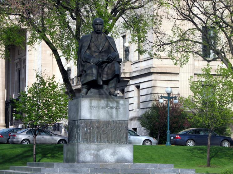 World Travel Photos :: Canada - Manitoba - Winnipeg :: Winnipeg - a monumnet of Taras Shevchenko