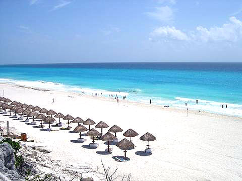 World Travel Photos :: Miulin :: Cancun. Beach