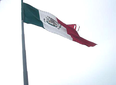 World Travel Photos :: Miulin :: Cancun. Mexican Flag