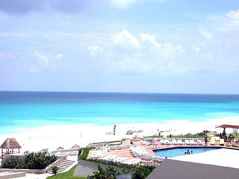 World Travel Photos :: Miulin :: Cancun. View of the see