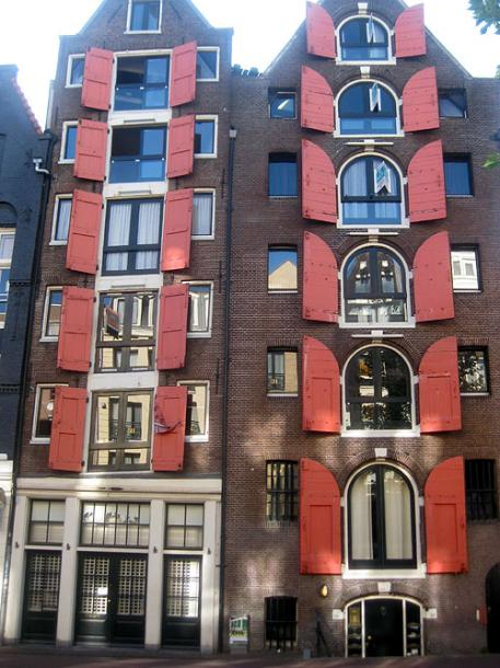 World Travel Photos :: Netherlands - Amsterdam :: A building in Amsterdam