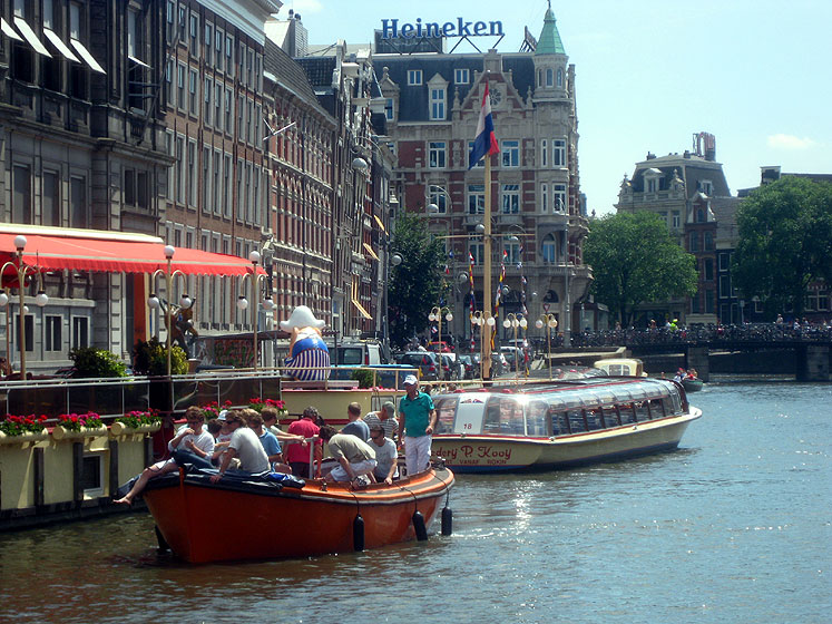 World Travel Photos :: Netherlands - Amsterdam :: Amsterdam - a summer day