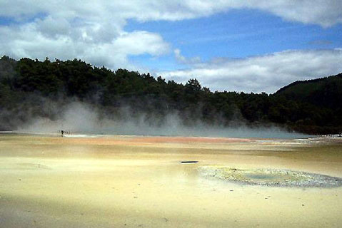 World Travel Photos :: New Zealand :: New Zealand. Rotorua