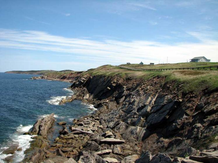 World Travel Photos :: Canada - Nova Scotia - Cape Breton Island :: Nova Scotia. Cape Breton - along the ocean