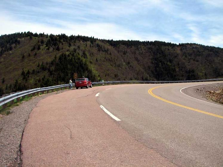 World Travel Photos :: Canada - Nova Scotia - Cape Breton Island :: Nova Scotia. A fragment of Cabot Trail
