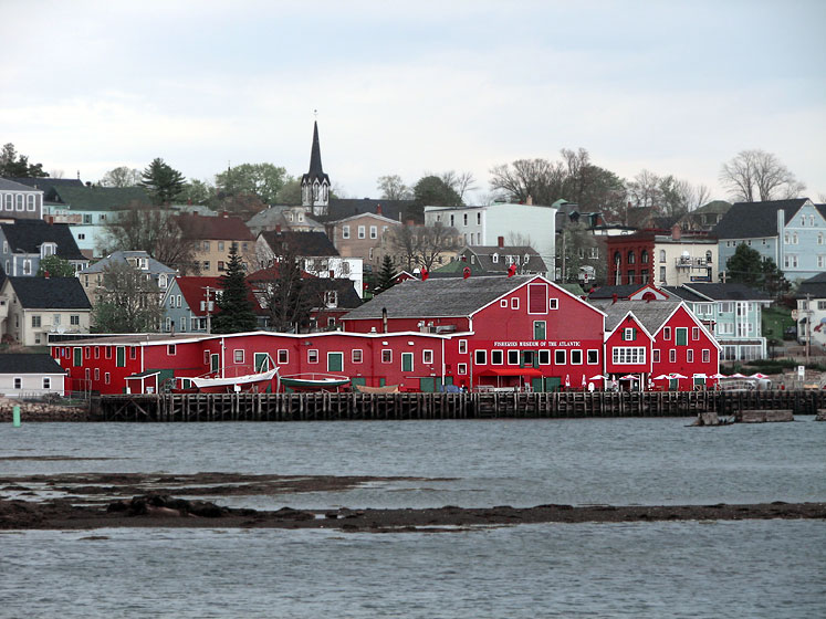 World Travel Photos :: UNESCO World Heritage Sites :: Canada. Nova Scotia. Lunenburg - UNESCO World Heritage Site