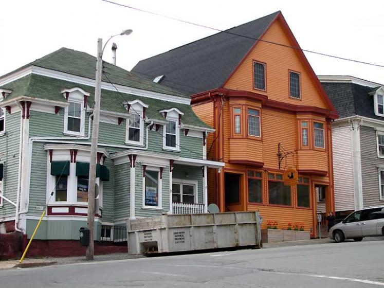 World Travel Photos :: Canada - Nova Scotia - Lunenburg :: Lunenburg. Residential buildings