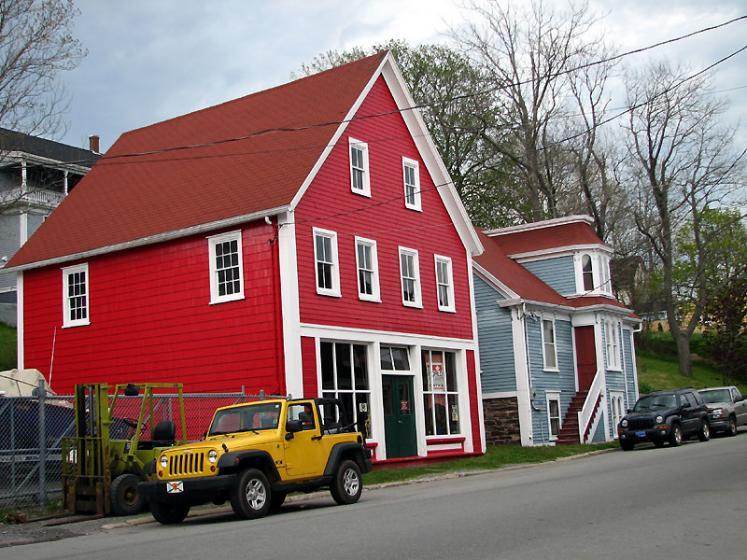 World Travel Photos :: Canada - Nova Scotia - Lunenburg :: Lunenburg. Residential bulding
